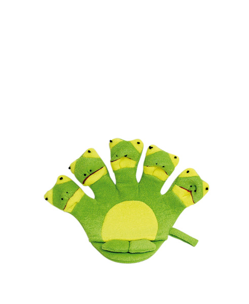 TITANIA Frottee Bath Glove For Kids 9200 Frog