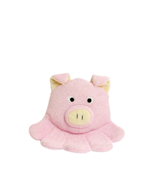 TITANIA Frottee Bath Glove For Kids 9202 Pig