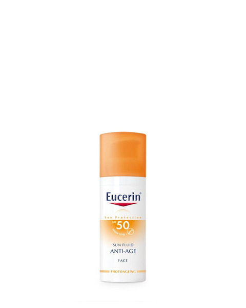 Picture of EUCERIN Anti Age Face Sun Fluid All Skin Types SPF50 50ml
