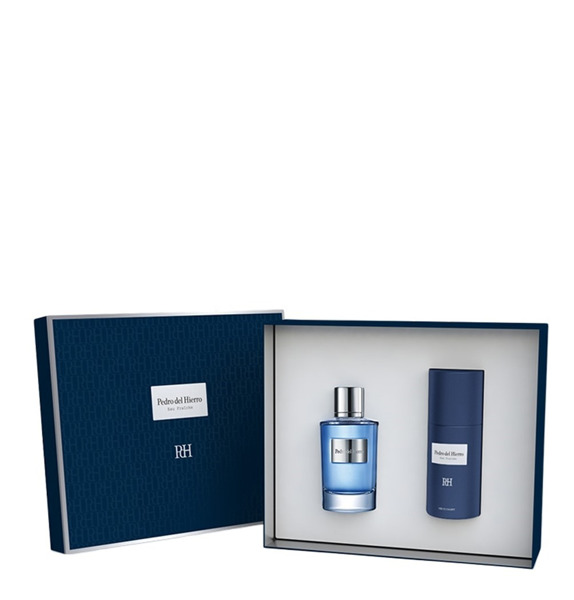 PEDRO DEL HIERRO Fragancia Fresca Estuche 100ml + Deodorant Spray 150ml M Set