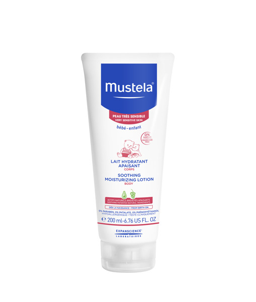 MUSTELA Soothing Moisturizing Body Lotion For Very Sensitive Skin 200ml