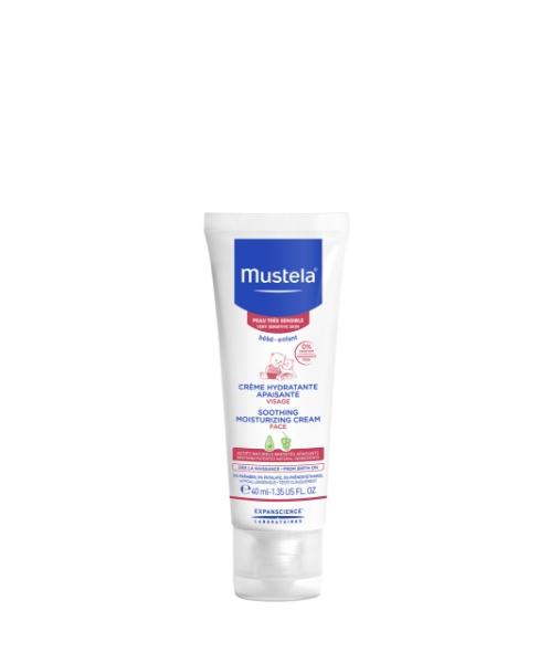 MUSTELA Soothing Moisturizing Face Cream For Very Sensitive Skin 40ml