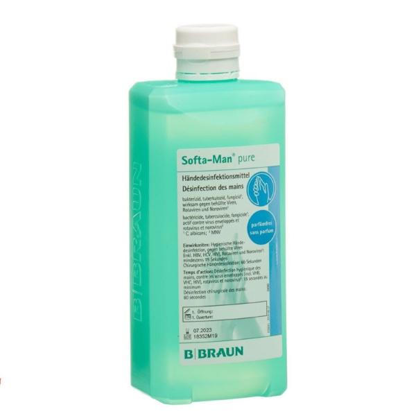 B BRAUN Softa Man Hand Disinfectant 1L