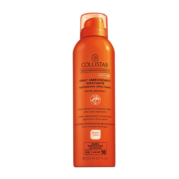 COLLISTAR Moisturizing Spf10 Tanning Spray 200ml-New