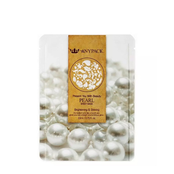 ANYPACK Pearl Sheet Mask 22ml