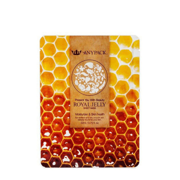 ANYPACK Royal Jelly Sheet Mask 22ml